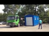 Погрузка бытовки - компрессорной ООО ПКФ