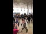 Флешмоб в аэропорту Бен-Гурион