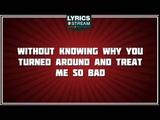 Tragedy - Marc Anthony tribute - Lyrics