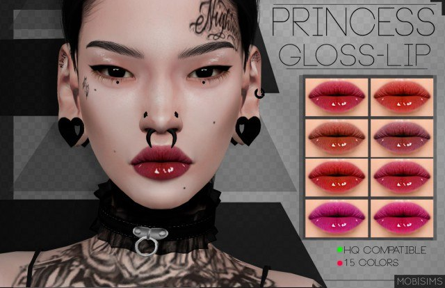 Princess Gloss-Lip by Mobsims