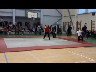 бой на чемпионате Балтии по панкратиону