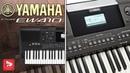 YAMAHA PSR-EW410 Лучший домашний синтезатор на 6 октав