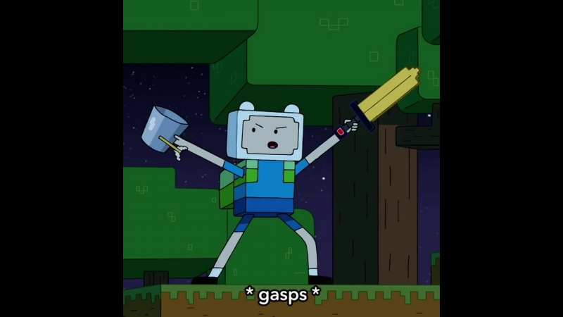 Minecraft в сериале «Время Приключений»