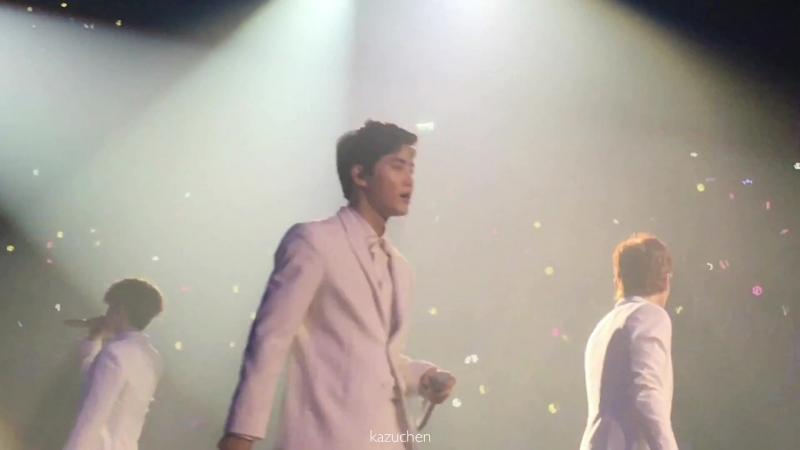 [FANCAM] 180317 The EℓyXiOn in Bangkok: D-2 @ EXO's Suho Sehun — Tender Love