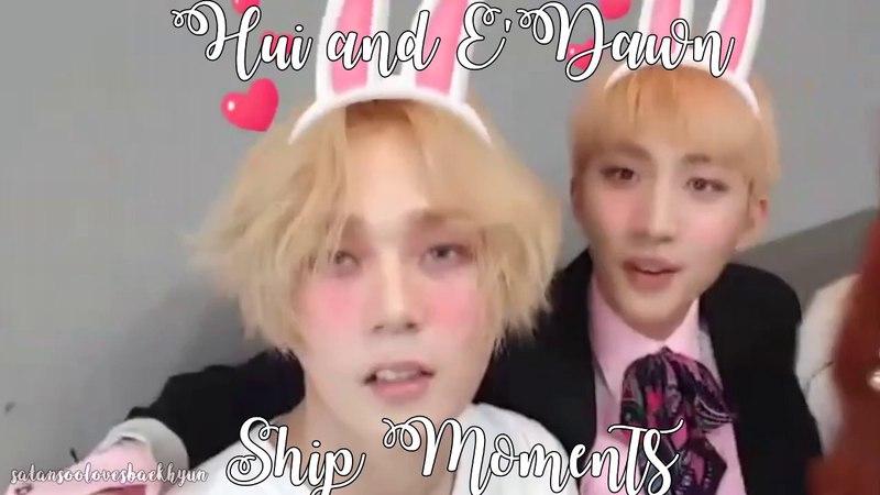 Hui and E'Dawn Ship Moments [Huidawn]