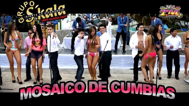 MOSAICO DE KUMBIAS - GRUPO SKALA video oficial by Gus Aymara Jr _CUMBIA DE ECUADOR_