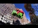 Огромные воздушные шары на праздничном параде в Нью-Йорке