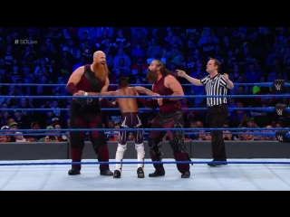 ذا بليدجون بروذرز يواجهان مصارعين محليين في سماكداون - 6 فبراير 2018 - WWE