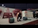 Виктор Блуд тянет 250 кг