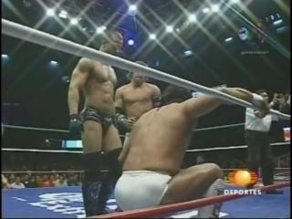 [#My1] (2008.09.19) - Atlantis, Negro Casas  Ultimo Guerrero vs. Sonjay Dutt, Chris Sabin  Alex Shelley