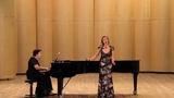 Summertime Gershwin aria of Clara Leah Kras Krasilovskaya Лия Красиловская