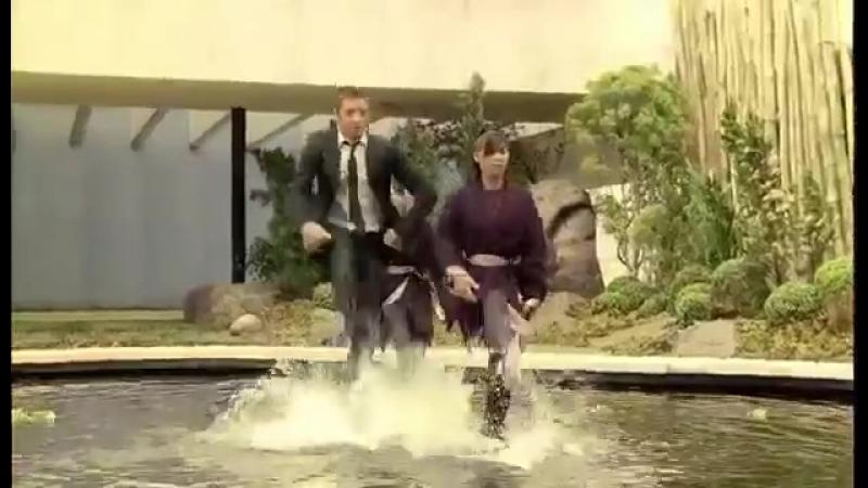 Танец Хью Джекмана