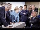 Вместо тысячи слов: соцсети взорвало фото Меркель и Трампа с саммита G7