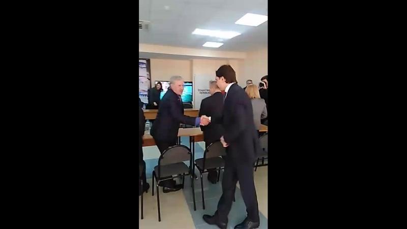 Визит Андрея Клычкова в Ситуационный центр Общественной палаты Орловской области