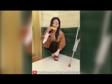 Lovely Amputee Girl Cleaning Corn - YouTube