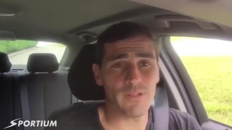 Iker Casillas Os dejo otra ConexionMundial esta vez facebook 05 07 2018