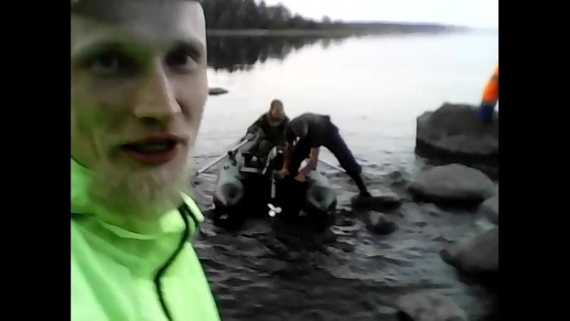 Отправка первых бойцов за уловом)