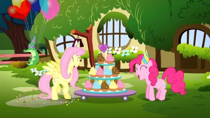 Пони поздравляют тебя с днем рождения! [Поняшки - На русском - День Рождения - Д_HD.mp4