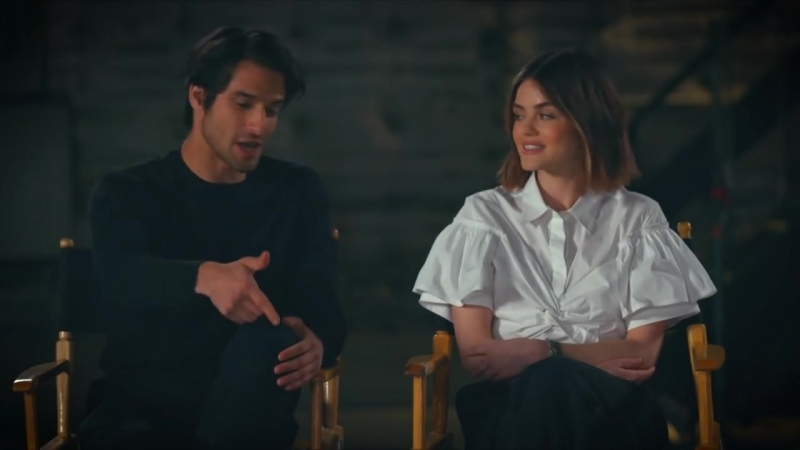 How Pretty Little Liars and Teen Wolf prepped Lucy Hale and Tyler Posey for Truth or Dare