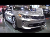 2018 KIA Optima SXL Turbo - Exterior And Interior Walkaround - 2018 Toronto Auto Show