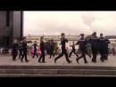 Танец Яблочко в день Города Иваново, площадь Революции