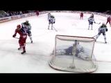Шайба в исполнении Андрея Кузьменко и Андрея Светлакова попала в топ лучших голов тринадцатой недели юбилейного сезона КХЛ.