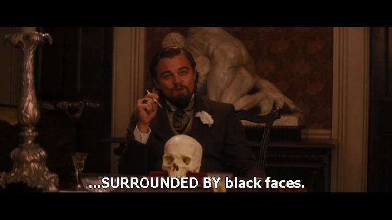 Django. Unchained. (Ben's Scull) Sound - ENG Subs - ENG