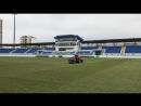 Стадион Динамо готовится к матчу Легион Динамо - СКА Ростов-на-Дону. 17.03.2018