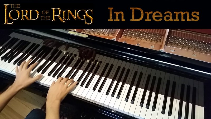 Lord of the Rings In Dreams, Howard Shore (Late-Intermediate Piano Solo)