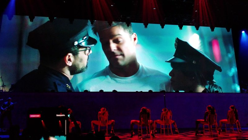 Ricky Martin 4k Arrested video! 05/23/2018 (All In)Park Theater at Monte Carlo, Las Vegas