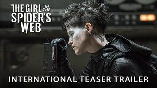 «Девушки, которая застряла в паутине» - трейлер