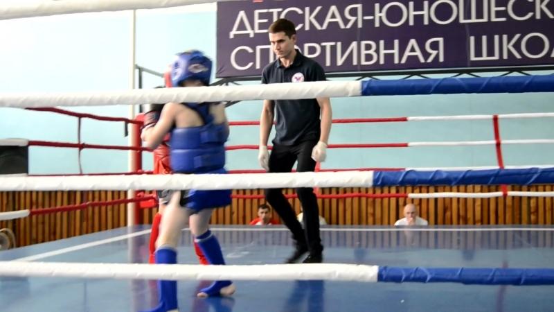 Деньгин Миша 2 бой
