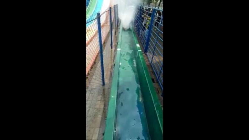 Big slide Sozo water park Lahore!