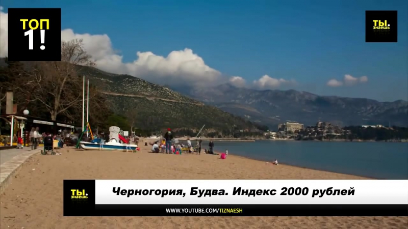 Бюджетные места для отдыха россиян за границей!! 2016