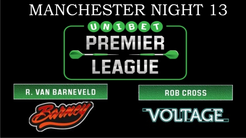 2018 Premier League of Darts Week 13 van Barneveld vs Cross