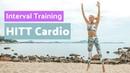 Rebecca Louise Interval Training HIIT Cardio Workout Интервальная кардио тренировка для среднего уровня