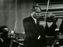 David Oistrakh plays Tchaikovsky Concerto 1st Mov. Part 1