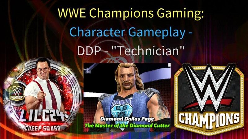 WWE Champions - 🎥 Diamond Dallas Page Technician Gameplay Video