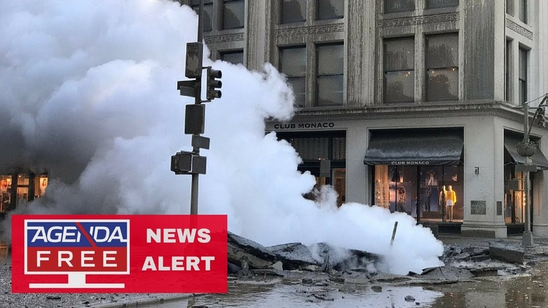 Asbestos Released in NYC Pipe Explosion - LIVE COVERAGE