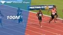 Ronnie Baker 9 88 Wins Men's 100m IAAF Diamond League Paris 2018
