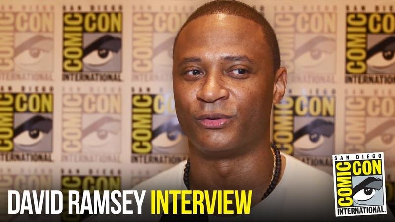 David Ramsey Talks Arrow Batwoman Crossover and Directing Season 7 Episode at Comic Con 2018