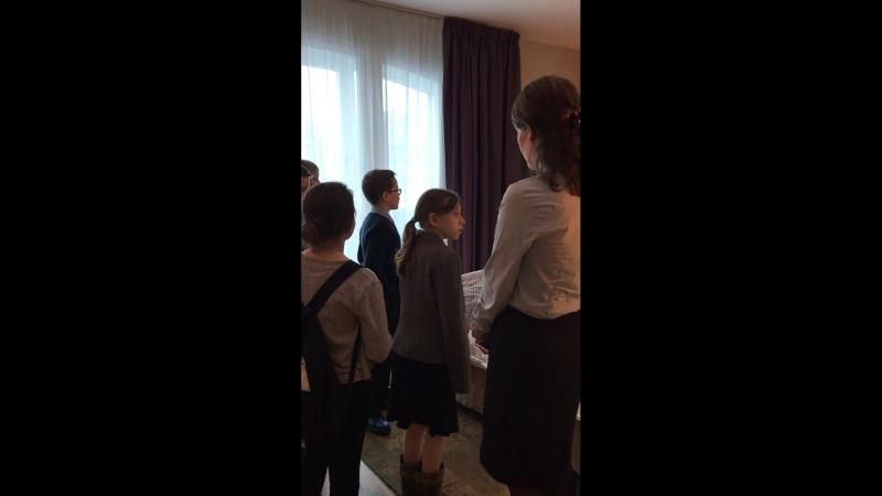 Экскурсия для воспитанников Мгинской ШИ в Отель Индиго
