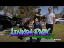 Linkin Park Carpool Karaoke Hot Dogs and Ketchup Dance