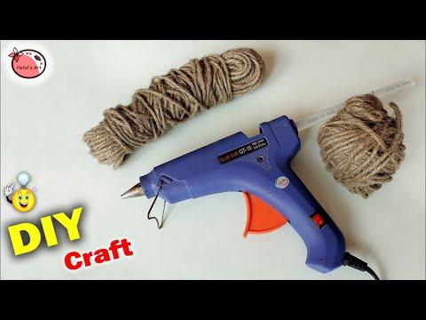 Jute craft Wall Hanging || DIY Room Decor Idea || Handmade Craft Idea 2018