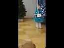 Конкурс чтецов - Новый год. Моя внучка Ева Рзаева 5 лет.