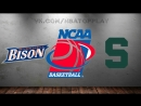 Bucknell Bison vs Michigan State Spartans 16.03.2018 1st Round NCAAM March Madness 2018 Виасат Viasat Sport HD RU