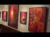 Satoshi Sakamoto's art show in Hachinohe city,