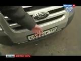 Нанопленка на автомобильные номера против камер