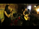 группа СВОД Погромче, Лето, Блюз не до конца 21 06 2013 в Питере в кафе Африка