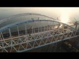 За пять суток по Крымскому мосту проехало почти 100 тысяч автомобилей